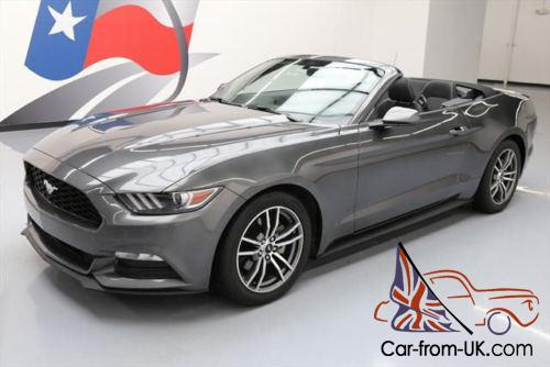2015 ford mustang v6 convertible automatic rear cam. Black Bedroom Furniture Sets. Home Design Ideas