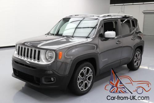 2016 jeep renegade limited rear cam htd leather. Black Bedroom Furniture Sets. Home Design Ideas
