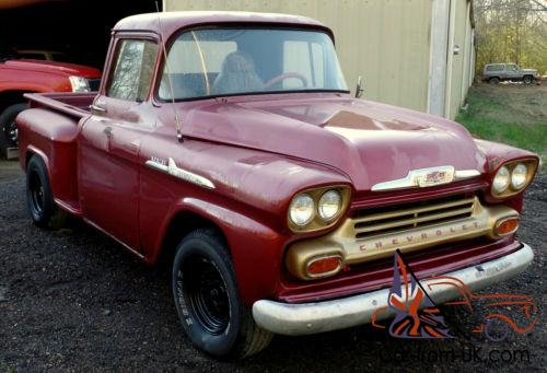 1959 Chevrolet Other Pickups Other Apache C10 3100 Stepside
