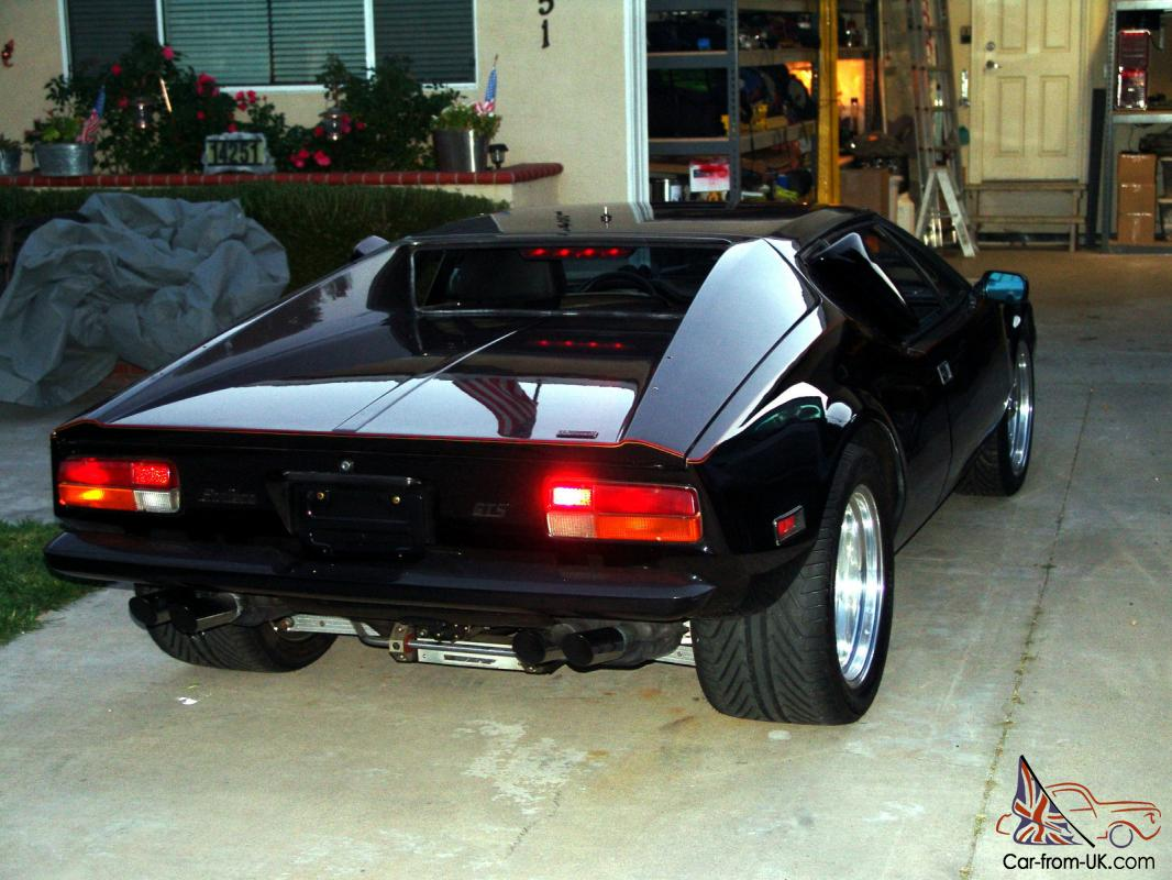 1974 detomaso pantera l series many many extras. Black Bedroom Furniture Sets. Home Design Ideas