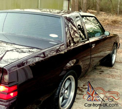 Buick Regal T Type For Sale: 1987 Buick Grand National Turbo T-Type GNX Motor Trans