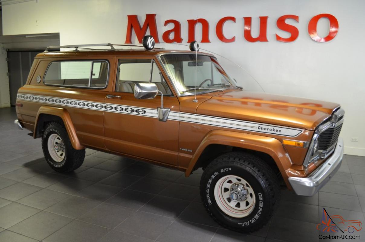 1979 jeep cherokee chief --