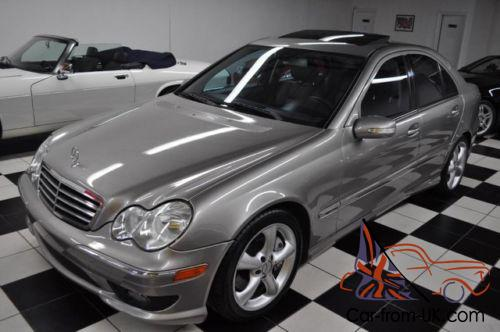 2006 mercedes benz c class only 44 612 miles c230 not for Mercedes benz c230 amg