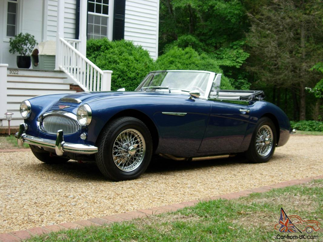 1964 austin healey 3000 bj8 truly an exceptional example. Black Bedroom Furniture Sets. Home Design Ideas