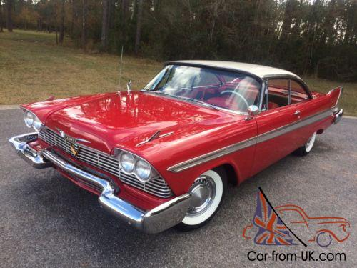 Plymouth Fury 1958 For Sale >> 1958 Plymouth Fury