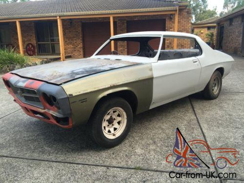 & Holden HQ LS Monaro Coupe 2 door rolling shell Project
