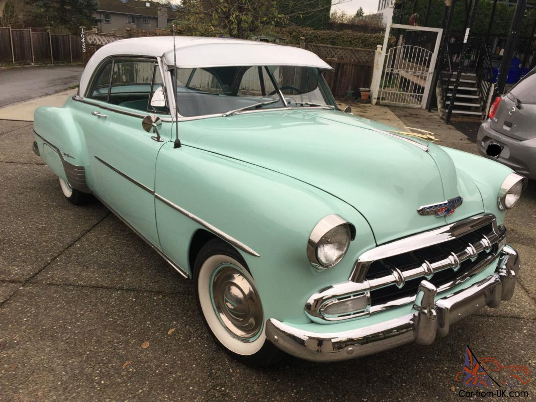 1952 chevrolet bel air 150 210 deluxe bel air ebay for 1952 chevy deluxe 2 door for sale