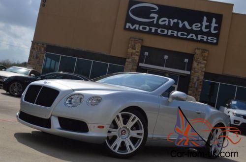 2013 Bentley Continental Gt Gtc Convertible Stunning Color Combo