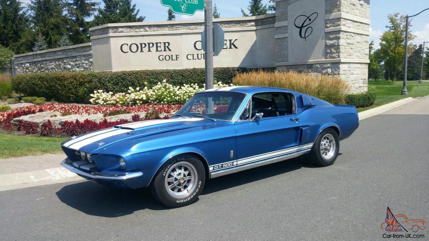 1967 ford mustang shelby gt 500 ebay