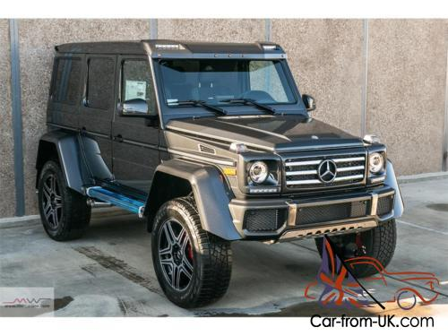 2017 mercedes benz g class g550 4x4 squared for Mercedes benz 4x4 2017