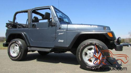 2002 Jeep Wrangler SPORT PACKAGE 4X4 Photo