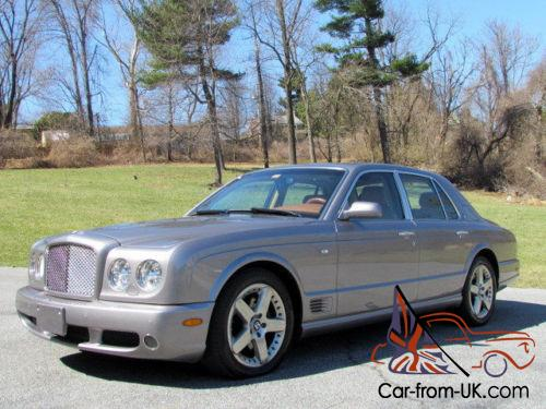 2006 bentley arnage 4dr sedan t