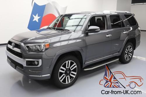 2016 toyota 4runner limited awd sunroof nav 20 39 s. Black Bedroom Furniture Sets. Home Design Ideas