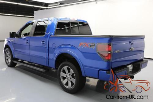 2014 ford f 150 fx2 crew 5 0 sunroof nav leather. Black Bedroom Furniture Sets. Home Design Ideas