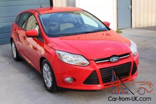 2012 Ford Focus SE Automatic 2 0L Hatchback 38 mpg
