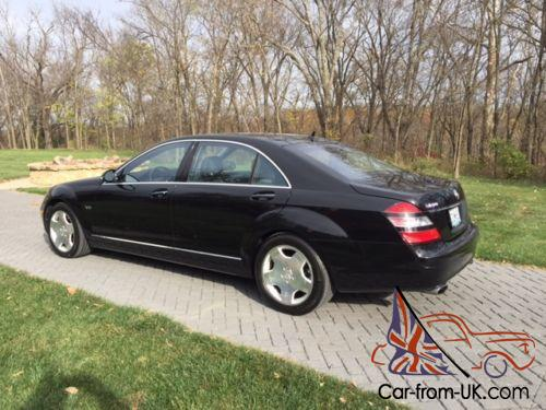 2007 Mercedes Benz S Class S600 Twin Turbo V 12