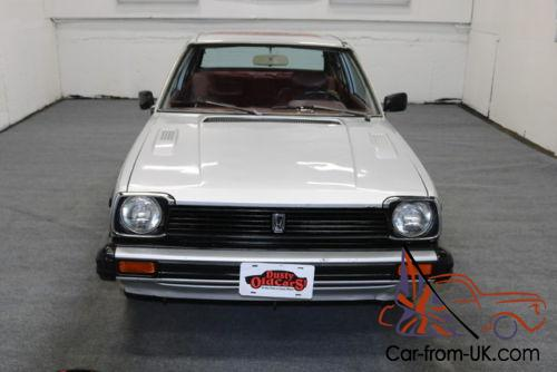 1980 honda civic 1300 dx runs drives body int good 1 3l 4cyl 5 spd man. Black Bedroom Furniture Sets. Home Design Ideas
