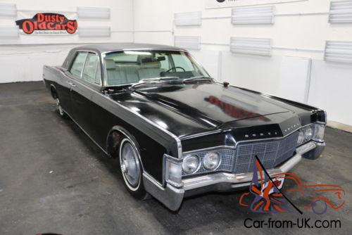 1969 lincoln continental black on white 460v8 3spd body int good1969 Lincoln Continental Sedan #11