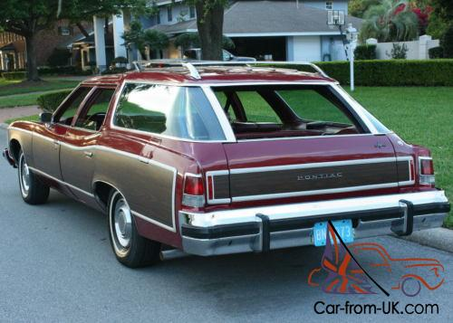 A 1976 Pontiac Catalina Safari wagon, showing the ... |1975 Catalina Station Wagon Buick