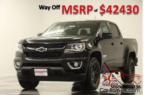 2017 chevrolet colorado msrp 42430 4wd z71 gps midnight crew 4x4. Black Bedroom Furniture Sets. Home Design Ideas