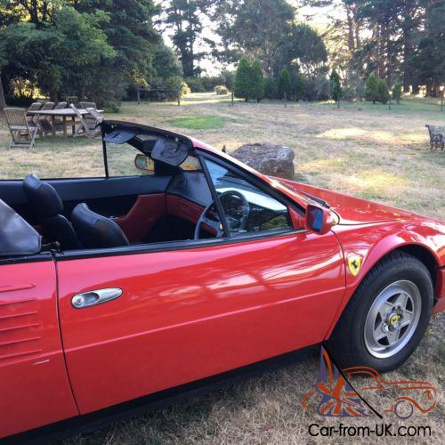 ferrari mondial qv cabriolet conversion. Black Bedroom Furniture Sets. Home Design Ideas
