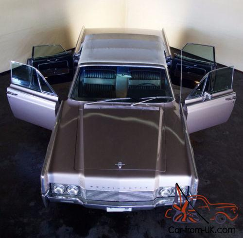 Beverly Hills Exotic Car Rental 1966 Lincoln CONTINENTA LIN 1966 for sale