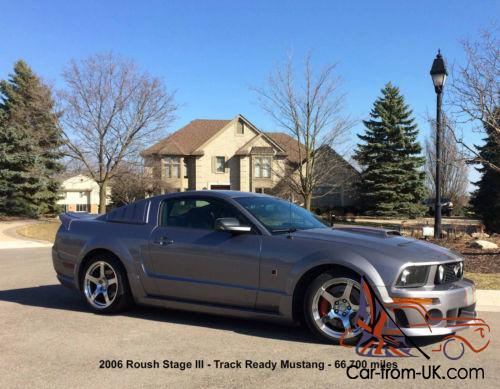 2006 ford mustang roush stage iii. Black Bedroom Furniture Sets. Home Design Ideas