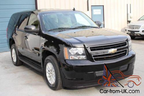 2009 chevrolet tahoe 6 0l v8 hybrid 4wd suv navigation. Black Bedroom Furniture Sets. Home Design Ideas