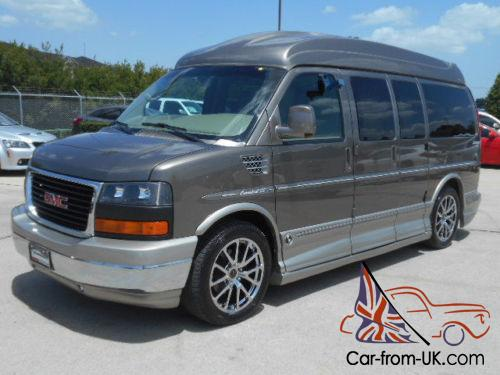 2012 Chevrolet Express EXPLORER SE CUSTOM VAN HIGH TOP NAV 18K MILES Photo