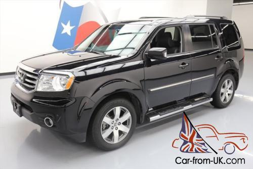 2014 honda pilot touring 4x4 8 pass sunroof nav dvd. Black Bedroom Furniture Sets. Home Design Ideas
