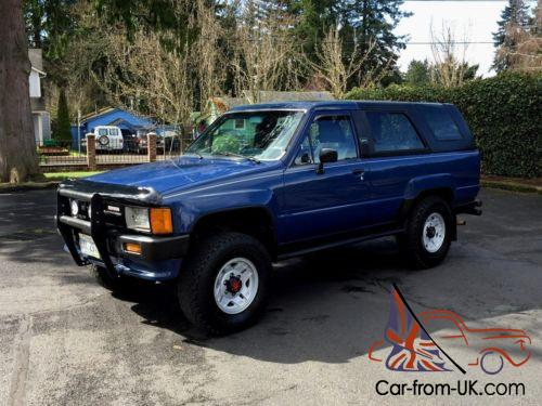 1986 toyota 4runner 4x4 4 runner sr5 suv 1st gen efi other pickup. Black Bedroom Furniture Sets. Home Design Ideas