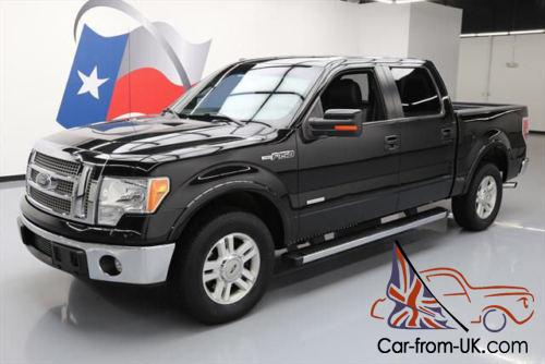 2012 ford f 150 lariat crew ecoboost rear cam alloys. Black Bedroom Furniture Sets. Home Design Ideas