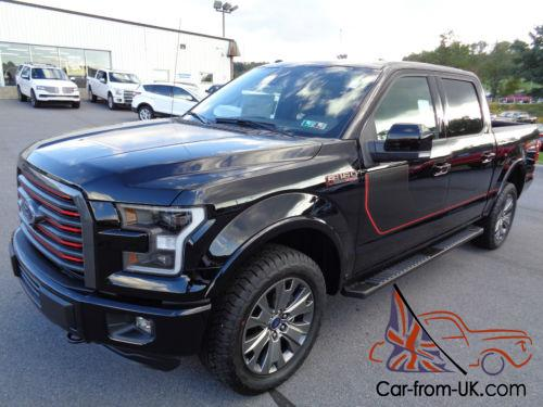 2016 ford f 150 new 2016 crew lariat 4x4fx4 tech package sport 4wd. Black Bedroom Furniture Sets. Home Design Ideas