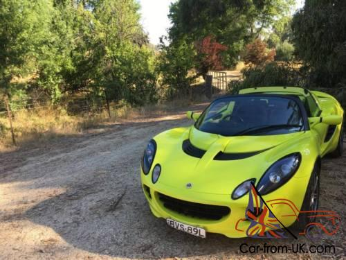2008 LOTUS ELISE SC - FACTORY SUPERCHARGED -VERY RARE!