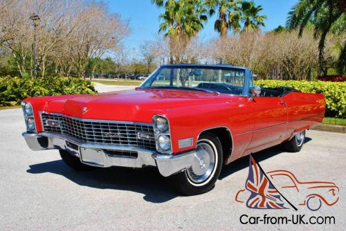 1967 Cadillac Deville Convertible Absolutely Gorgeous Caddy One Owner Photo