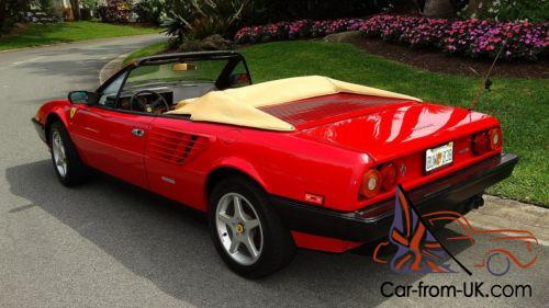 1985 ferrari mondial quattrovalvole mondail. Black Bedroom Furniture Sets. Home Design Ideas