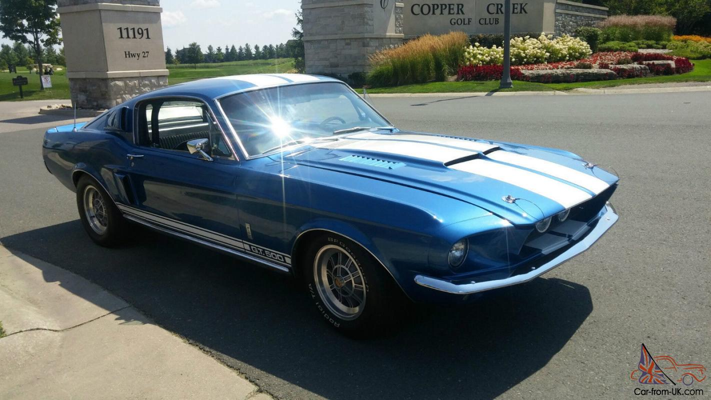 1967 ford mustang shelby gt 500 ebay. Black Bedroom Furniture Sets. Home Design Ideas