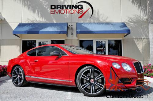 2013 Bentley Continental Gt V8 Mulliner Coupe