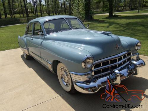 1949 cadillac series 62 4 door sedan