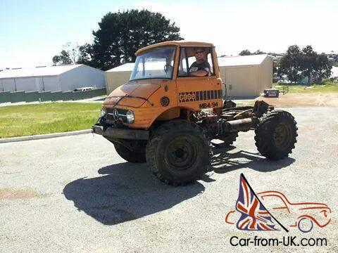 Unimog For Sale >> 1976 Mercedes Unimog 406 Project Running