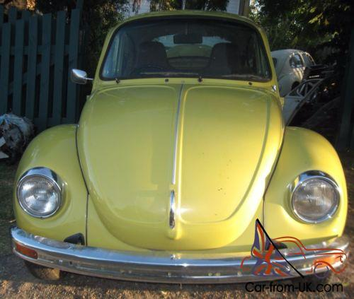 Vw 1600 Knocking: 1975 VW Super Beetle 1600 L BUG Rack And Pinion Steering