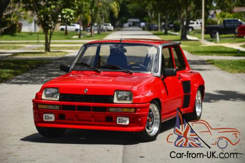 1980 renault r5 turbo 2 le car le fast. Black Bedroom Furniture Sets. Home Design Ideas