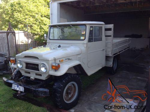 Toyota Land Cruiser Ute 1972 FJ45 4x4 Four Wheel Drive