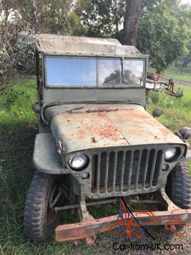 Willys Jeep For Sale >> Willys Jeep
