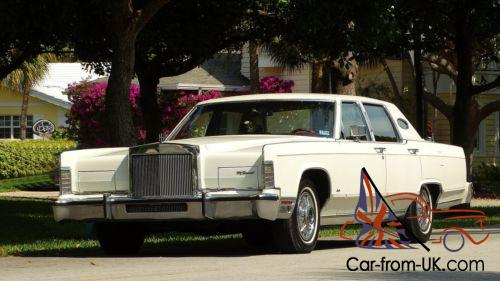 1979 Lincoln Continental Town Car Edition