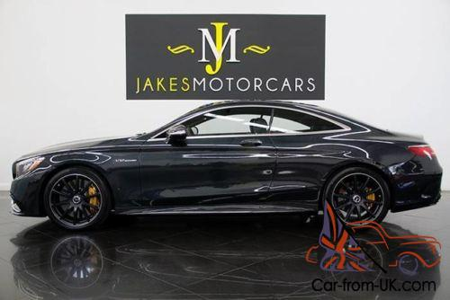 2016 mercedes benz s class s65 amg v12 bi turbo coupe 257k msrp rh car from uk com