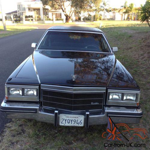Cadillac 500 For Sale: 1983 Cadillac Fleetwood Series 75 Limo Caddy Limousine V8