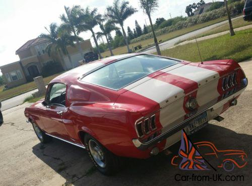 1968 Ford Mustang Coupe Fastback Conversion