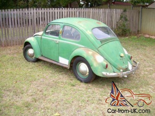 1958 Vw Beetle Type 1 German Build Photo