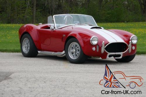 1966 Shelby Cobra -AC Super nice paint- 351 with 5 speed-fast roadst